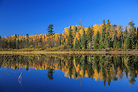 """Fall Reflection on Horse River""<br />