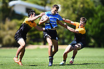 NELSON, NEW ZEALAND - OCTOBER 22: TSS Senior Rugby. Neale Park, Nelson. Tuesday 22 October 2019 in Nelson, New Zealand. (Photo by Chris Symes/Shuttersport Limited)
