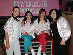 Pink Ladies Ellen Rayburn, Lauren Matthews, Gemma Myles and Ciara Woods in Ardee Community school's production of Grease at Ardee Parish Centre. Photo: Colin Bell/pressphotos.ie