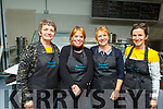 Lil Hanafin, Anita Bodenham, Colette O'Sullivan and Catherine O'Keeffe volunteering at the Mercy Mounthawk Careers evening in the school on Thursday.
