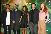 "PUA-TAI HIKUTINI, EDOUARD DELUC, TUHEI ADAMS, VINCENT CASSEL, PERNILLE BERGENDORFF - AVANT-PREMIERE DU FILM ""GAUGUIN, VOYAGE DE TAHITI"" AU CINEMA GAUMONT CAPUCINE A PARIS, FRANCE, LE 18/09/2017."