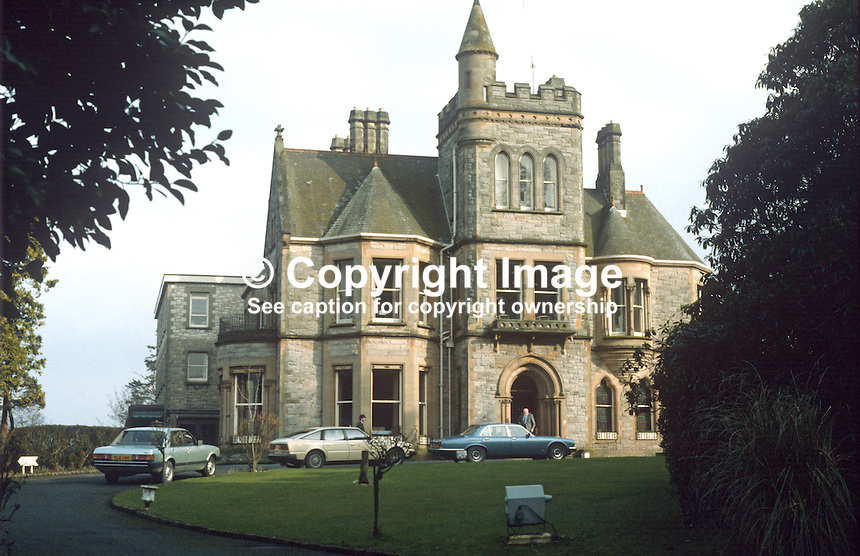 Culloden Hotel, Holywood, Co Down, N Ireland, UK, 19840024CH..Copyright Image from Victor Patterson, 54 Dorchester Park, Belfast, UK, BT9 6RJ..Tel: +44 28 9066 1296.Mob: +44 7802 353836.Voicemail +44 20 8816 7153.Skype: victorpattersonbelfast.Email: victorpatterson@me.com.Email: victorpatterson@ireland.com (back-up)..IMPORTANT: If you wish to use this image or any other of my images please go to www.victorpatterson.com and click on the Terms & Conditions. Then contact me by email or phone with the reference number(s) of the image(s) concerned.