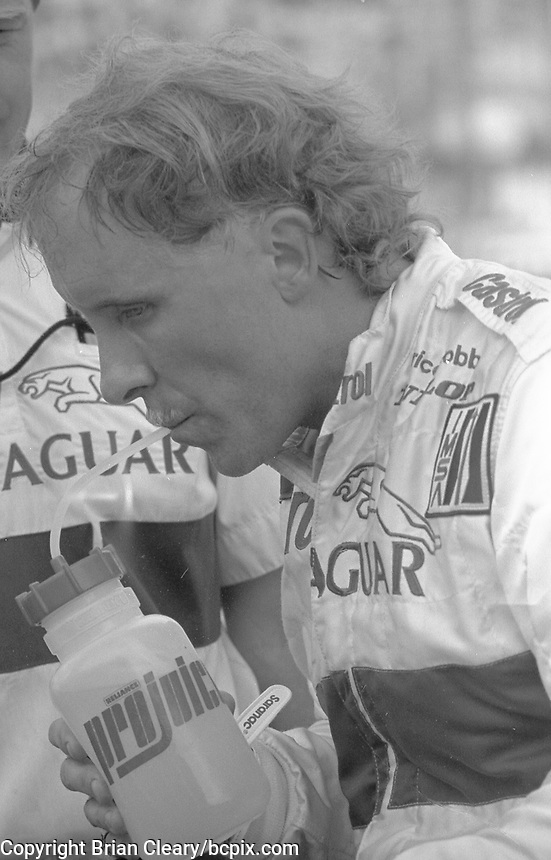 Price Cobb at the IMSA GTP/Lights race at the Florida State Fairgrounds in Tampa, FL, October 1, 1989. (Photo by Brian Cleary/www.bcpix.com)