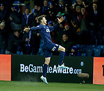 12.02.2020 Kilmarnock v Rangers: Stephen O'Donnell celebrates his goal for Kilmarnock