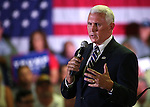 Pence stumps in Carson 080116