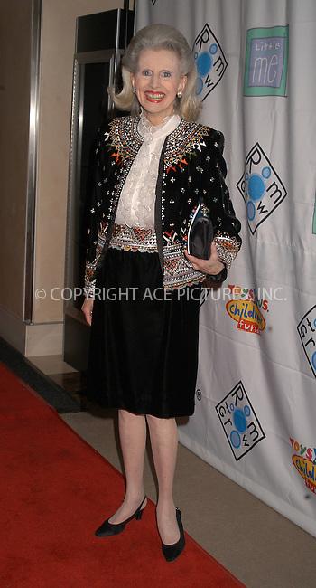 """Socialite Judy Peabody attended the """"Room To Grow"""" VIP Gala Auction at Christie's, New York City, January 26 2004. Please byline: AJ SOKALNER/NY Photo Press.   ..*PAY-PER-USE*      ....NY Photo Press:  ..phone (646) 267-6913;   ..e-mail: info@nyphotopress.com"""