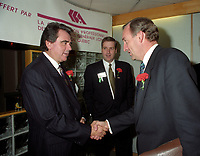 October 7, 1993 File Photo - Montreal, Quebec,  Denis Desautels, Canada's auditor General at APFF Convention
