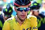 Race leader Richie Porte (AUS) BMC Racing Team before the start of Stage 8 of the Criterium du Dauphine 2017, running 115km from Albertville to Plateau de Solaison, France. 11th June 2017. <br /> Picture: ASO/A.Broadway | Cyclefile<br /> <br /> <br /> All photos usage must carry mandatory copyright credit (&copy; Cyclefile | ASO/A.Broadway)