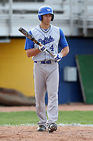 April 14, 2010:  Jason Kanzler of the Buffalo Bulls during a game at Sal Maglie Stadium in Niagara Falls, NY.  Photo By Mike Janes/Four Seam Images