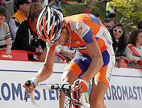 Laurens Ten Dam during the stage of La Vuelta 2012 between La Robla and Lagos de Covadonga.September 2,2012. (ALTERPHOTOS/Acero) /NortePhoto.com<br /> <br /> **CREDITO*OBLIGATORIO** <br /> *No*Venta*A*Terceros*<br /> *No*Sale*So*third*<br /> *** No*Se*Permite*Hacer*Archivo**<br /> *No*Sale*So*third*