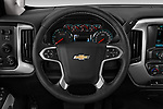 Car pictures of steering wheel view of a 2019 Chevrolet Silverado-2500 LT 4 Door Pick-up Steering Wheel