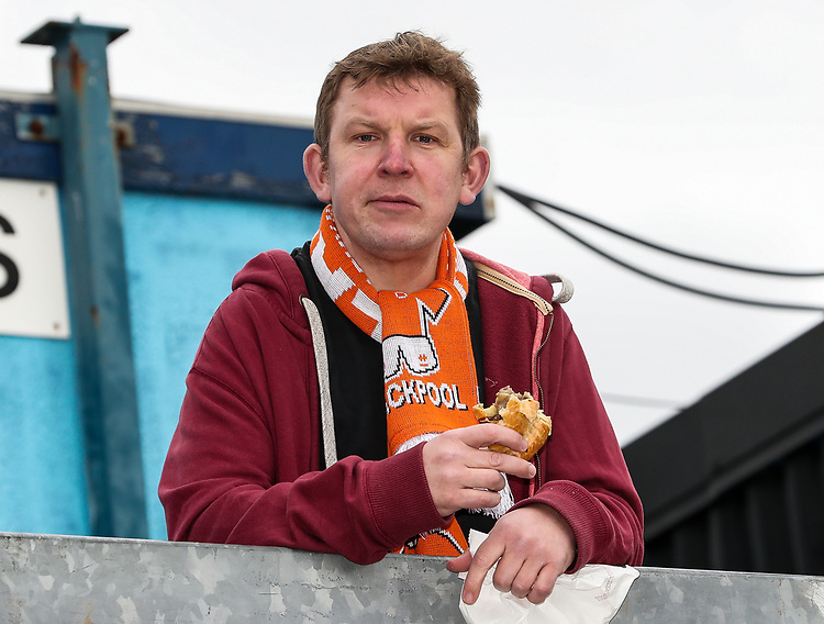 Blackpool supporters enjoying the pre-match atmosphere<br /> <br /> Photographer Andrew Kearns/CameraSport<br /> <br /> The EFL Sky Bet League Two - Bristol Rovers v Blackpool - Saturday 2nd March 2019 - Memorial Stadium - Bristol<br /> <br /> World Copyright © 2019 CameraSport. All rights reserved. 43 Linden Ave. Countesthorpe. Leicester. England. LE8 5PG - Tel: +44 (0) 116 277 4147 - admin@camerasport.com - www.camerasport.com