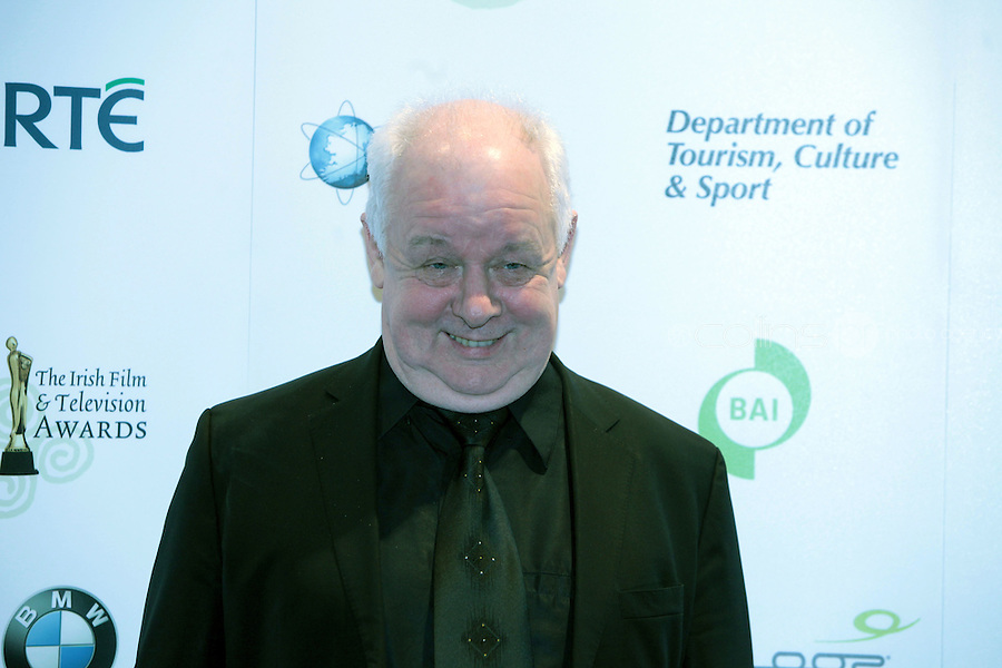 12/2/11 Jim Sheridan at the 8th Irish Film and Television Awards at the Convention centre in Dublin. Picture:Arthur Carron/Collins