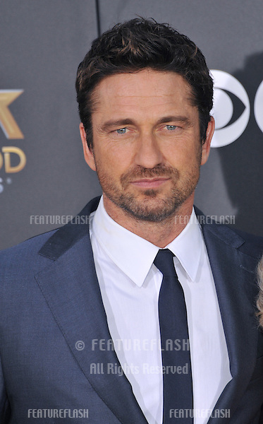 Gerard Butler at the 2014 Hollywood Film Awards at the Hollywood Palladium.<br /> November 14, 2014  Los Angeles, CA<br /> Picture: Paul Smith / Featureflash