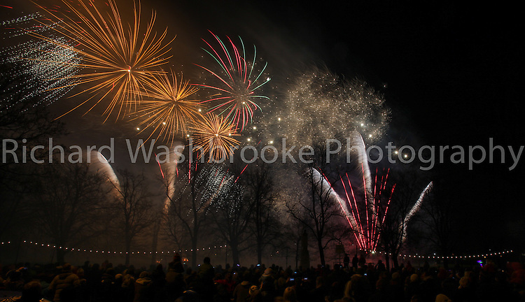 Pyro1  21st November 2012  Lights Up Bedford Parade