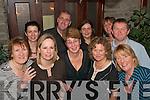 NIGHT OUT: Tralee Together Special Olympics group celebrated the new year in the Station House Bar/Restaurant Blennerville on Saturday night. Front: Kit Ryan, Una Murphy, Sheila O Sullivan, Laurna O'Sullivan and Mary Quillinan. Back: Trish Fitzpatrick, Liam Martin, Siobha?n Leahy, Jill O'Brien and Mike O'Leary.   Copyright Kerry's Eye 2008