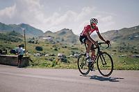Jelle Vanendert (BEL/Lotto-Soudal) up the Comet de Roselend<br /> <br /> Stage 11: Albertville > La Rosière / Espace San Bernardo (108km)<br /> <br /> 105th Tour de France 2018<br /> ©kramon