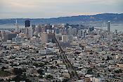 San Francisco skyline as seen from Twin Peaks