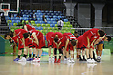 Japan Women's team group (JPN), AUGUST 9, 2016 - Basketball : <br /> Women's Preliminary Round <br /> between Japan 62-76 Turkey <br /> at Youth Arena <br /> during the Rio 2016 Olympic Games in Rio de Janeiro, Brazil. <br /> (Photo by Yusuke Nakanishi/AFLO SPORT)