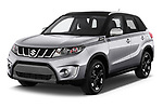 2018 Suzuki Vitara GLX  S 5 Door SUV angular front stock photos of front three quarter view