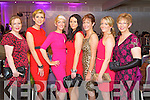 Pictured at the Fashion Show in the Kenmare Bay Hotel on Saturday, from left: Maria O'Callaghan, Siobhan Carey, Elaine Kelliher, Claire Flynn, Catherine Tuohy, Emer O'Sullivan and Mary Moran.