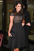 Vicky Pattinson<br /> arriving for the TRIC Awards 2016 at the Grosvenor House Hotel, Park Lane, London<br /> <br /> <br /> &copy;Ash Knotek  D3095 08/03/2016