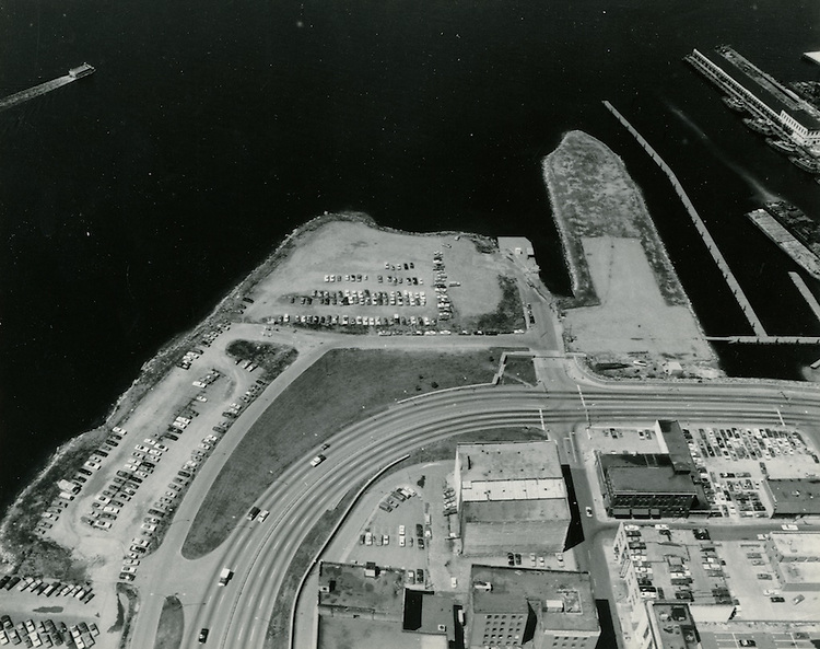 UNDATED..Redevelopment.Downtown West (A-1-6)..View of Waterfront.Future Town Point Park & Nauticus Sites...NEG#.NRHA#..