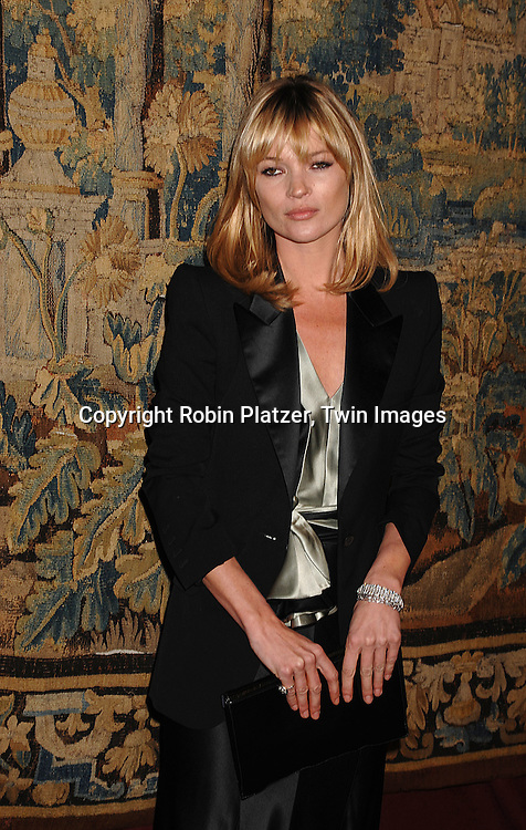 Kate Moss..arriving at The 7th on Sale Black Tie Gala Dinner on ..November 15, 2007 at The 69th Regiment Armory in New York. The Fashion Industry's Battle Against HIV and AIDS..will benefit. CFDA and Vogue were 2 of the sponsors...Robin Platzer, Twin Images
