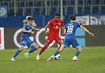 Christoph Baumgartner (TSG 1899 Hoffenheim), Christopher Nkunku (RB Leipzig) und Sebastian Rudy (TSG 1899 Hoffenheim)<br /> <br /> Sport: Fussball: LIGA: Saison 19/20: TSG 1899 <br /> Hoffenheim-RB Leipzig, 12.06.2020.<br /> <br /> Foto: RALF POLLER/AVANTI/POOL/PIX-Sportfotos<br /> <br /> Nur für journalistische Zwecke! Only for editorial use! <br /> Gemäß den Vorgaben der DFL Deutsche Fußball Liga ist es untersagt, in dem Stadion und/oder vom Spiel angefertigte Fotoaufnahmen in Form von Sequenzbildern und/oder videoähnlichen Fotostrecken zu verwerten bzw. verwerten zu lassen. DFL regulations prohibit any use of photographs as image sequences and/or quasi-video.