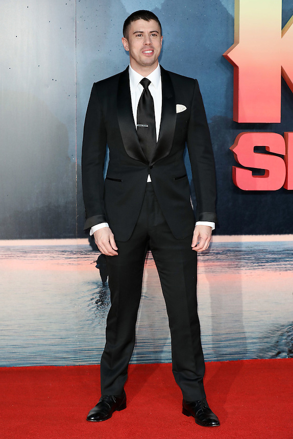 "Toby Kebell<br /> arrives for the ""Kong: Skull Island"" premiere, Empire Leicester Square, London.<br /> <br /> <br /> ©Ash Knotek  D3235  28/02/2017"