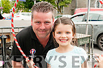 Family Fun Day: Attending the family fun day in the Square, Listowel on Sunday afternoon last were John & Keira O'Connor.