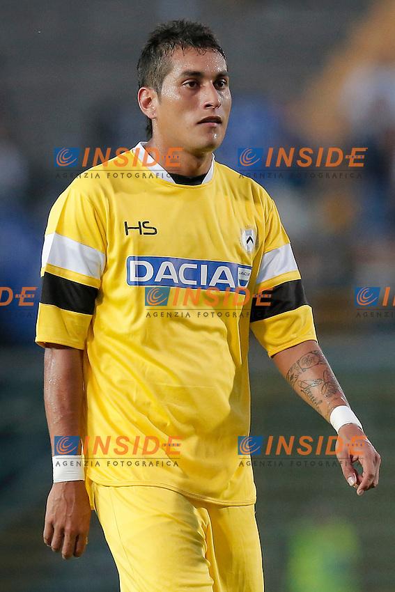 Roberto Pereyra Udinese,<br /> Bergamo 27/7/2013 <br /> Football Calcio 2013/2014 Serie A <br /> Atalanta Vs Udinese <br /> Trofeo Bortolotti  <br /> Foto Marco Bertorello Insidefoto