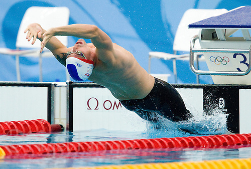 14 AUG 2008 - BEIJING, CHN - Gregor Tait (GBR) -  Beijing Olympics. (PHOTO (C) NIGEL FARROW) *** IOC RULES APPLY ON USAGE ***