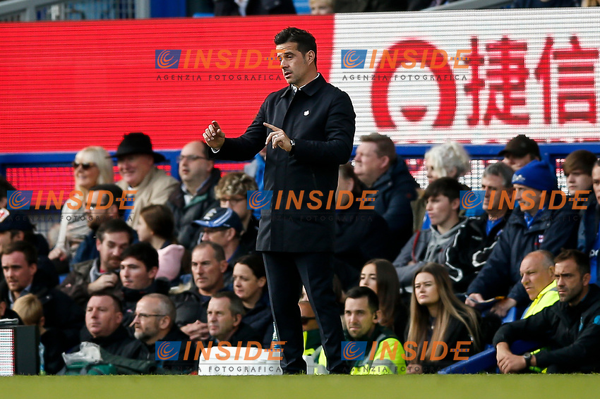 Everton Manager Marco Silva during the Premier League match between Everton and West Ham United at Goodison Park on October 19th 2019 in Liverpool, England. (Photo by Daniel Chesterton/phcimages.com)<br /> Foto PHC/Insidefoto <br /> ITALY ONLY
