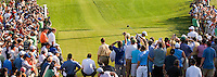 PGA golfer Tiger Woods tee's off during the 2007 Wachovia Championships at Quail Hollow Country Club in Charlotte, NC.