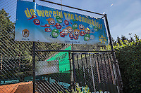 Etten-Leur, The Netherlands, August 23, 2016,  TC Etten, NVK, tenniskids banner<br /> Photo: Tennisimages/Henk Koster