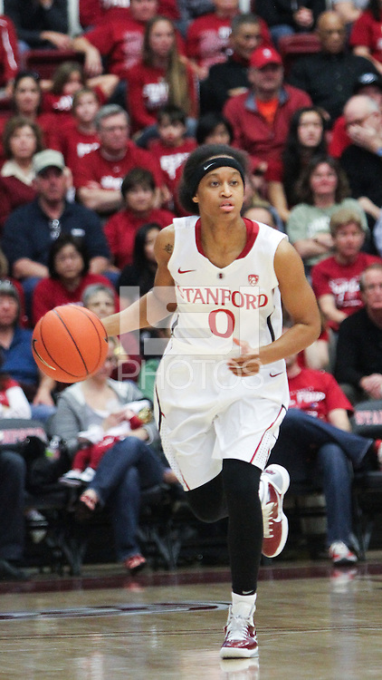 STANFORD, CA - January 22, 2011:  Melanie Murphy during Stanford's 95-51 victory over USC at Stanford, California on January 22, 2011.