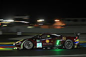 June 14 and 15th 2017,  Le Mans, France; Le man 24 hour race qualification sessions at the Circuit de la Sarthe, Le Mans, France;  #51 AF CORSE (ITA) FERRARI 488 GTE LMGTE PRO JAMES CALADO (GBR) ALESSANDRO PIER GUIDI (ITA) MICHELE RUGOLO (ITA)