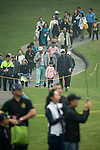 Spectators follow the competition during Round 4 of the World Ladies Championship 2016 on 13 March 2016 at Mission Hills Olazabal Golf Course in Dongguan, China. Photo by Victor Fraile / Power Sport Images
