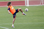 MADRID (25/05/09).- The Spanish Soccer national training session.  Puyol...PHOTO: Cesar Cebolla / ALFAQUI