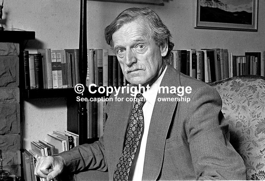 Stanley Worrall, headmaster, Methodist College, Belfast, N Ireland, 69/79, 197908000069.<br />