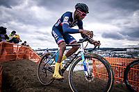 Mickael Crispin (FRA)<br /> <br /> Men's U23 race<br /> UCI 2020 Cyclocross World Championships<br /> Dübendorf / Switzerland<br /> <br /> ©kramon