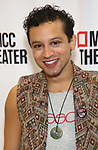 """Zachary Infante attends the Photo Call for the MCC Theater's World Premiere production of """"Alice by Heart"""" at the New 42nd Street Studios on December 17, 2018 in New York City."""