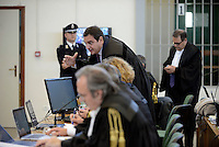Roma, 19 Novembre 2015<br /> Aula bunker di Rebibbia<br /> Terza udienza del processo Mafia Capitale, Roma Capitale, avvocati,