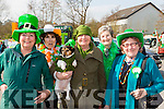Carole Hannah,  Carole Smith, Kathleen Voller, Mary Burke and Maryu sweeney from Womenb 2000 who marched in the Killorglin St Patricks day parade