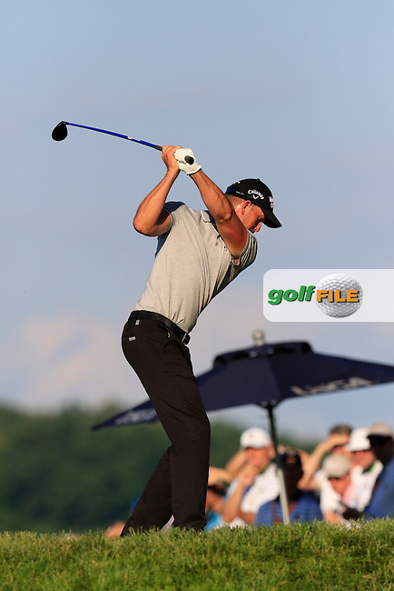 Henrik Stenson (SWE) tees off the 10th tee during Friday's Round 2 of the 2016 U.S. Open Championship held at Oakmont Country Club, Oakmont, Pittsburgh, Pennsylvania, United States of America. 17th June 2016.<br /> Picture: Eoin Clarke | Golffile<br /> <br /> <br /> All photos usage must carry mandatory copyright credit (&copy; Golffile | Eoin Clarke)