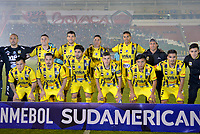 TUNJA  - COLOMBIA - 30 - 05 - 2017: Los Jugadores de Everton, posan para una foto durante partido de vuelta entre Patriotas F. C. de Colombia y Everton of Chile, de la primera fase, llave 5 por la Copa Conmebol Sudamericana en el estadio La Independencia de la ciudad de Tunja. / The players of Everton, pose for a photo during a match of the second leg of the first phase key 5 of between Patriotas F. C. of Colombia and Everton of Chile, for the Conmebol Sudamericana Cup 2017 at the La Libertad stadium in the city of Tunja. Photo: VizzorImage / Javier Morales / Cont.