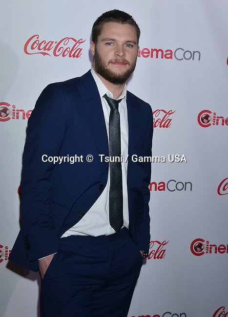 Jack Reynor  at the Cinemacon 2014 at Caesars Palace Hotel in Las Vegas.