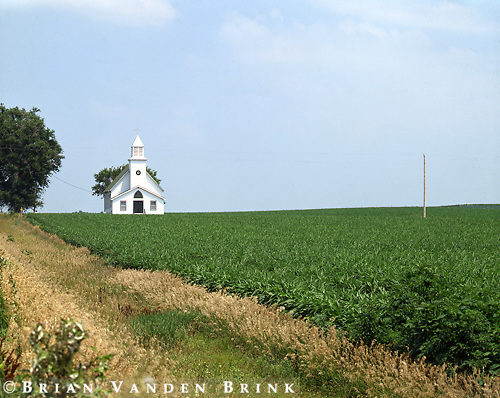 Rural Church.Utica, Nebraska