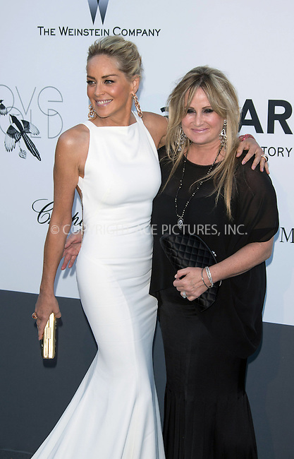 WWW.ACEPIXS.COM....US Sales Only....May 23 2013, New York City....Sharon Stone and her sister Kelly Stone at amfAR's Cinema Against AIDS Gala at the Hotel du Cap Eden Roc during the Cannes Film Festival on May 23 2013 in France....By Line: Famous/ACE Pictures......ACE Pictures, Inc...tel: 646 769 0430..Email: info@acepixs.com..www.acepixs.com